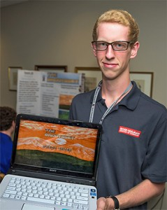 New Frontiers: Shelbyville High School senior Daniel Young gained new computer programming experience thanks to the IMPaCT partnership between Shelbyville, Shelby County, and Rose-Hulman.
